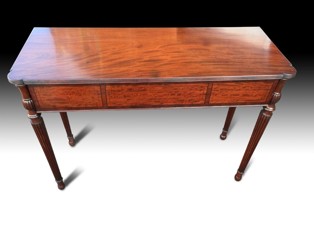 regency mahogany console table attributed to gillows